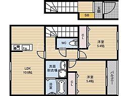 Gran・casa[2階]の間取り