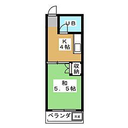 アサノビル[3階]の間取り