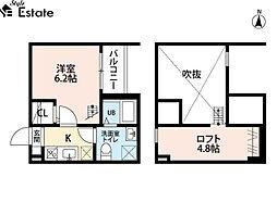ワルキューレ(ワルキューレ) 1階1SKの間取り