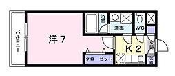 嵐山パレス[107号室]の間取り