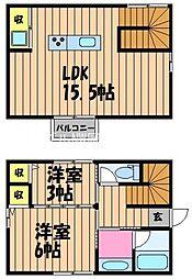 [一戸建] 岡山県岡山市北区西古松1丁目 の賃貸【/】の間取り