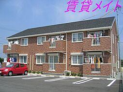 アンジェリックA・B棟[1階]の外観