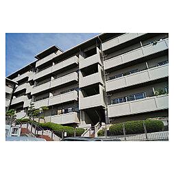 朝日プラザ生駒西2番館D棟[1階]の外観