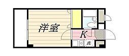 東京都墨田区文花2丁目の賃貸マンションの間取り