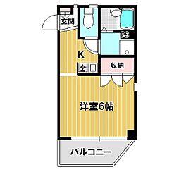 ドミール戸塚[305号室]の間取り