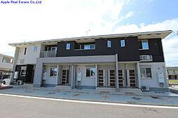 福岡県遠賀郡水巻町猪熊2の賃貸アパートの外観