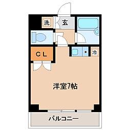 リエス小田原[3階]の間取り