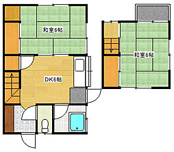 [一戸建] 広島県安芸郡府中町みくまり1丁目 の賃貸【/】の間取り