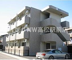 香川県高松市多肥下町の賃貸マンションの外観