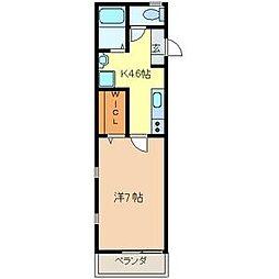 GLメゾン横浜[2階]の間取り