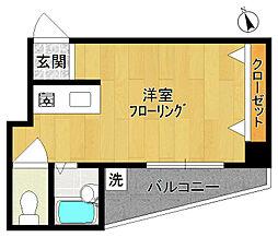 ヨシザワ第11マンション[303号室]の間取り