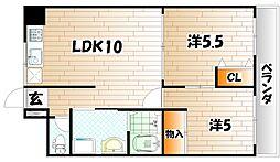 SHOEIパークハイツ[2階]の間取り