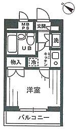 ワコーレ東村山[127号室]の間取り