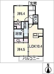 仮)D−room豊田市四郷町II[1階]の間取り