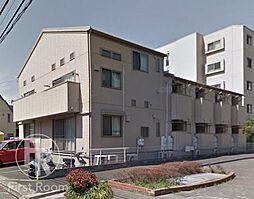 東京都大田区中馬込2丁目の賃貸アパートの外観