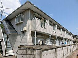 東京都練馬区小竹町の賃貸アパートの外観