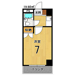 West Hill TAKATSUKA[305号室]の間取り