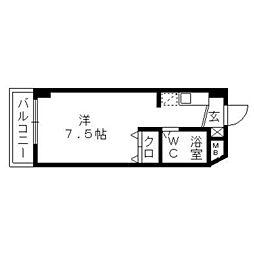 フジヤステーションコート浜松[10階]の間取り