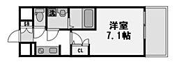 アーバンフラッツ新大阪I[1014号室]の間取り