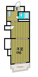 水上商事ビル小田急相模原[3階]の間取り
