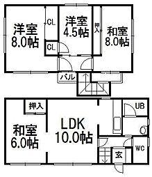 [一戸建] 北海道札幌市中央区宮の森二条17丁目 の賃貸【/】の間取り