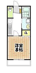 仮)松ヶ丘4丁目アパート[202号室]の間取り