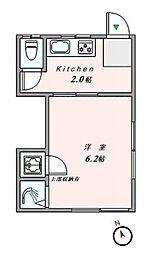 上中里駅 5.3万円