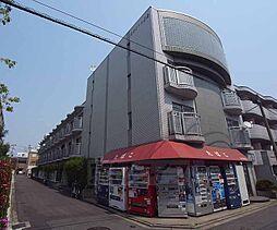 京都府京都市右京区西院西高田町の賃貸マンションの外観