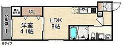 F maison ELENA[2階]の間取り