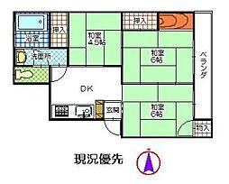 松島ビル[303号室]の間取り