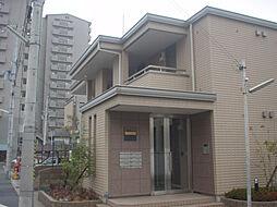 兵庫県神戸市長田区御屋敷通2丁目の賃貸アパートの外観