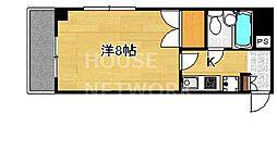 DETOM-1今出川通[804号室号室]の間取り