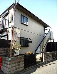東京都豊島区雑司が谷2丁目の賃貸アパートの外観