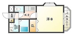 エナジーマンション[2階]の間取り