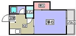 ライフステージ1・2号館[2階]の間取り