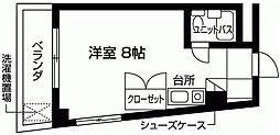 パークサイドO[3階]の間取り