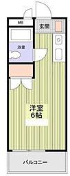 メイプルハウス町田[0403号室]の間取り