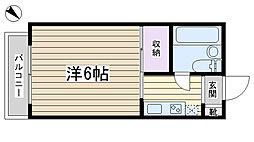 加藤マンション[403号室]の間取り