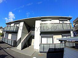 兵庫県宝塚市山本西3丁目の賃貸アパートの外観