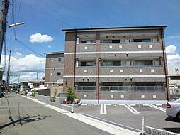 京都府京都市西京区牛ケ瀬堂田町の賃貸マンションの外観