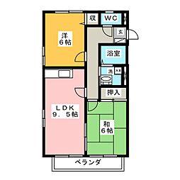 レトア寿[1階]の間取り
