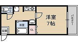 コモエスタ美久仁壱番館[2階]の間取り