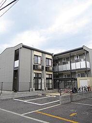 埼玉県坂戸市清水町の賃貸アパートの外観