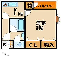 エターナルM&AII[1階]の間取り