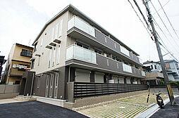 京都府京都市南区久世大築町の賃貸アパートの外観