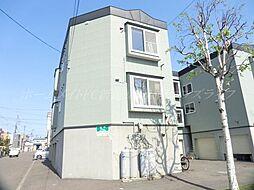 北海道札幌市東区北四十五条東17丁目の賃貸アパートの外観