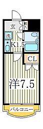 T.S第二マンション[3階]の間取り