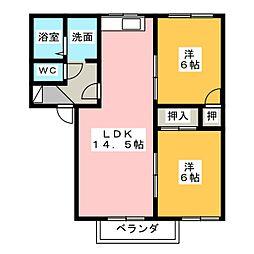 エリアM[1階]の間取り