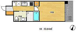 イーアールシティズ兵庫駅[2階]の間取り