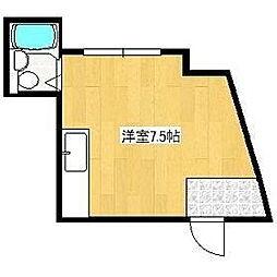 ハイツ高村[302号室]の間取り